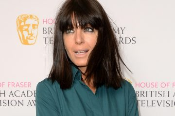 LONDON, ENGLAND - APRIL 22:  Claudia Winkleman attends the BAFTA Nominees Party at The Corinthia Hotel on April 22, 2015 in London, England.  (Photo by Dave J Hogan/Getty Images)